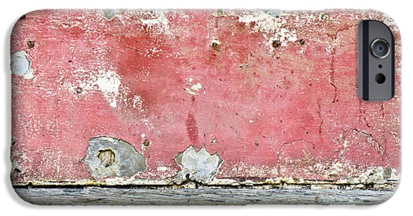 Chip iPhone Cases - Grungy background iPhone Case by Tom Gowanlock