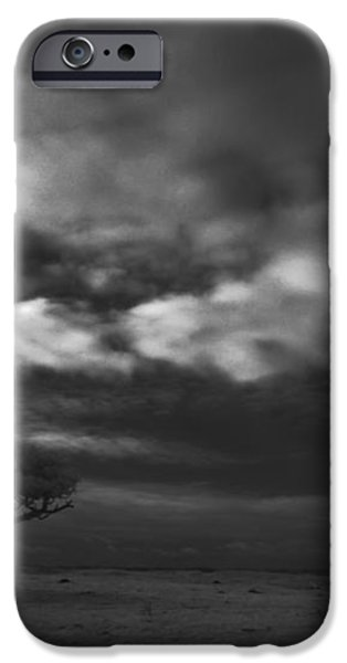 Infrared picture of nature areas in the Netherlands Dwingelderveld iPhone Case by Ronald Jansen