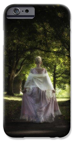 Jane Austen iPhone Case by Joana Kruse