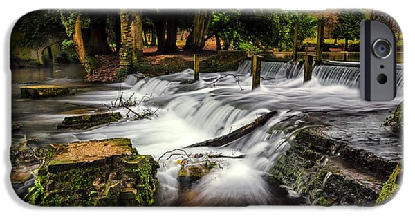 River View iPhone Cases - Kearsney Abbey iPhone Case by Ian Hufton