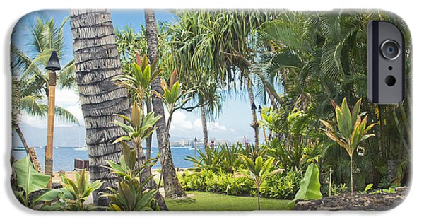 My Ocean iPhone Cases - Lahaina Maui Hawaii iPhone Case by Sharon Mau