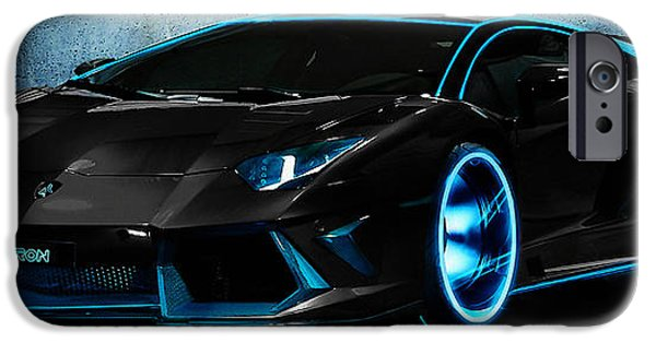 Automotive iPhone Cases - Lamborghini iPhone Case by Marvin Blaine