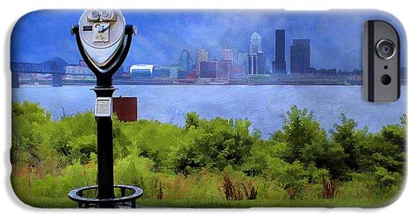 Indiana Scenes iPhone Cases - Louisville Kentucky iPhone Case by Darren Fisher