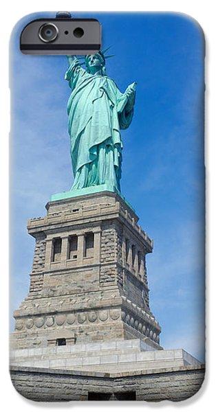 Politics Photographs iPhone Cases - Low Angle View Of A Statue, Statue Of iPhone Case by Panoramic Images
