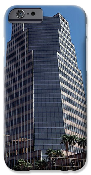 Road Travel iPhone Cases - Low Angle View Of An Office Building iPhone Case by Panoramic Images