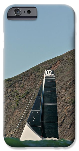 Alcatraz iPhone Cases - Marin Headlands iPhone Case by Steven Lapkin