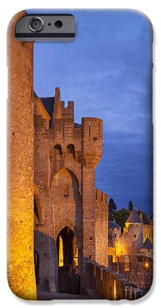 Medieval Carcassonne iPhone Case by Brian Jannsen