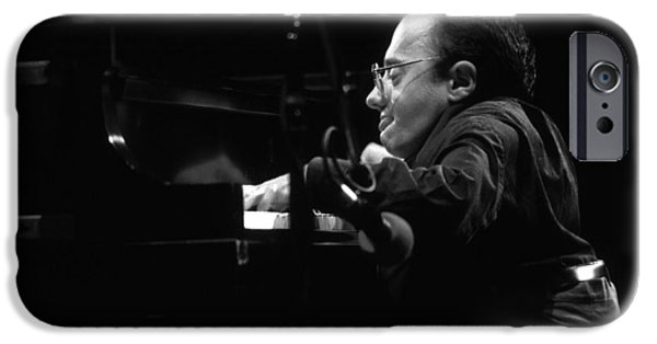 Piano iPhone Cases - Michel Petrucianni iPhone Case by Lindy Pollard