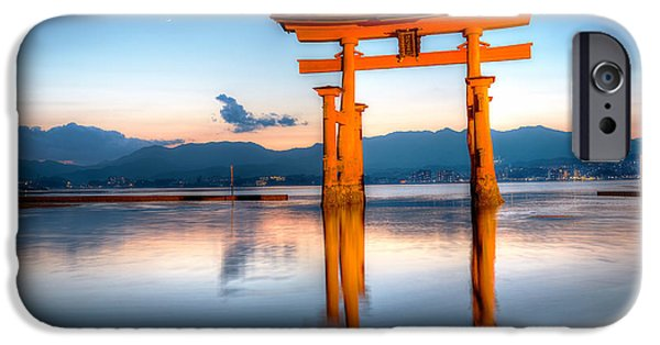 National Treasure iPhone Cases - Miyajima - Japan iPhone Case by Marco Brivio