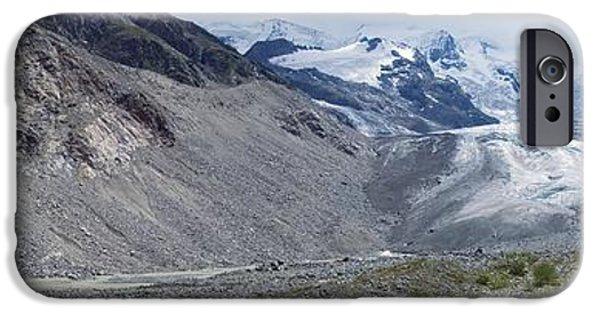 2000s iPhone Cases - Morteratsch Glacier, Switzerland iPhone Case by Dr Juerg Alean