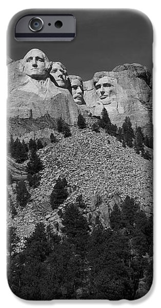 Mount Rushmore iPhone Case by Frank Romeo