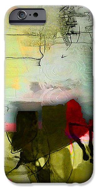 Nashville Skyline Watercolor iPhone Case by Marvin Blaine