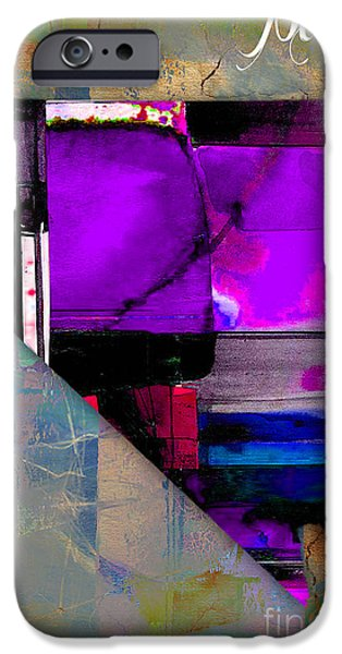 States iPhone Cases - Nevada State Map Watercolor iPhone Case by Marvin Blaine