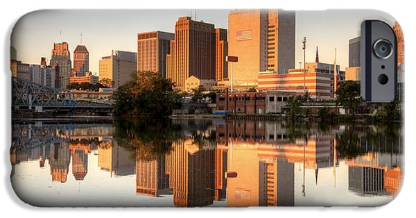 Building iPhone Cases - Newark New Jersey iPhone Case by Denis Tangney Jr