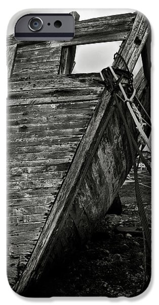 Recently Sold -  - Alga iPhone Cases - Old abandoned ship iPhone Case by RicardMN Photography