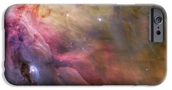 Cosmic iPhone Cases - Orion Nebula iPhone Case by Sebastian Musial