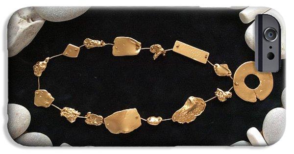 Old Jewelry iPhone Cases - Treasure of El Dorado  iPhone Case by Alexander Almark