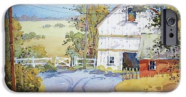 Recently Sold -  - Shed iPhone Cases - Peaceful in Pennsylvania iPhone Case by Joyce Hicks