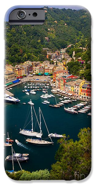 Sea View iPhone Cases - Portofino iPhone Case by Brian Jannsen