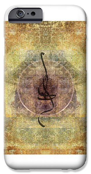Prayer Flag Triptych  iPhone Case by Carol Leigh
