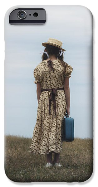 refugee girl iPhone Case by Joana Kruse