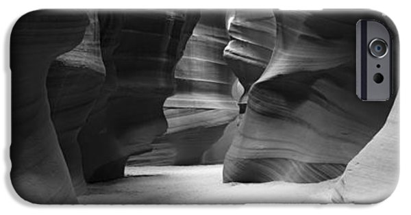 Lake Powell iPhone Cases - Rock Formations, Antelope Canyon, Lake iPhone Case by Panoramic Images