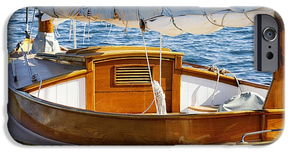 Windjammer iPhone Cases - Sailboat iPhone Case by John Greim