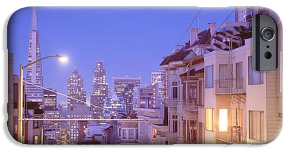 Sf iPhone Cases - San Francisco Ca iPhone Case by Panoramic Images
