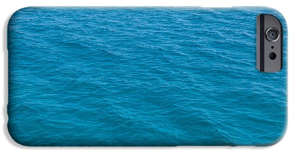 Abtracts iPhone Cases - Sea iPhone Case by Shaun Wilkinson
