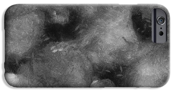 Recently Sold -  - Pleasure iPhone Cases - 3 Some Abstract Erotica BW iPhone Case by Thomas Woolworth