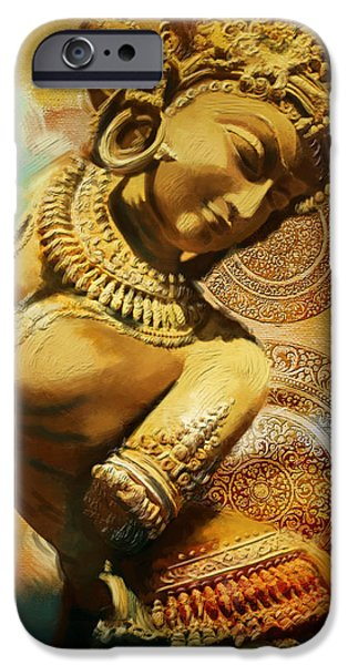 Corporate Art iPhone Cases - South Asian Art iPhone Case by Corporate Art Task Force