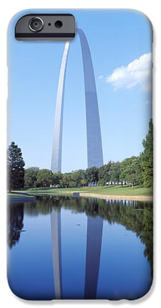 Stainless Steel iPhone Cases - St Louis Mo iPhone Case by Panoramic Images