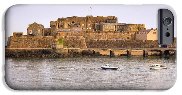 Castle iPhone Cases - St Peter Port - Guernsey iPhone Case by Joana Kruse