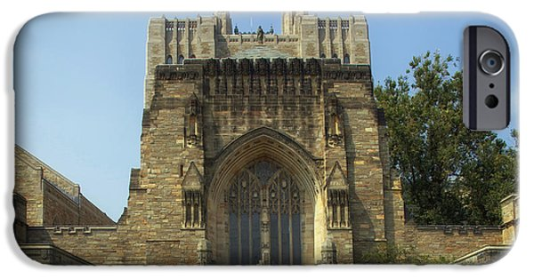 Sterling iPhone Cases - Sterling Memorial Library - Yale University iPhone Case by Mountain Dreams