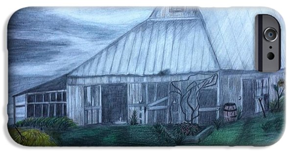 Old Barns Pastels iPhone Cases - Im Still standing- Elton John iPhone Case by Joyce Lawhorn