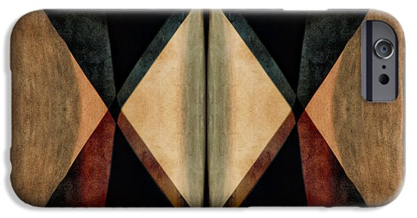 Impacting iPhone Cases - Stone Canyons Santa Fe Series 1 iPhone Case by Carol Leigh