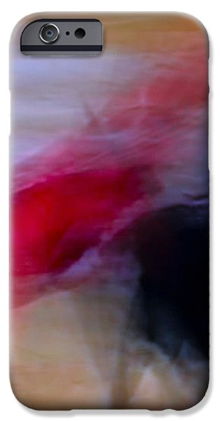 Tauromaquia Abstract bull-fights in Spain iPhone Case by Guido Montanes Castillo