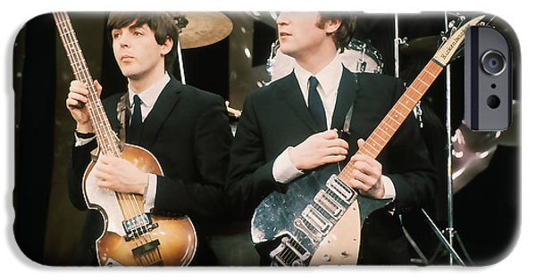 Ringo iPhone Cases - The Beatles iPhone Case by Marvin Blaine