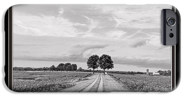 Matting iPhone Cases - The End Of The Road iPhone Case by Charles Feagans