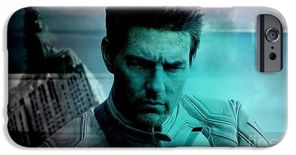 Cruise iPhone Cases - Tom Cruise iPhone Case by Marvin Blaine