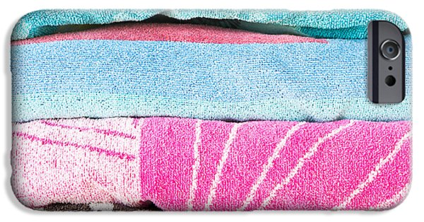 Absorb iPhone Cases - Towels iPhone Case by Tom Gowanlock