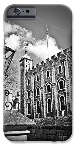 Royalty iPhone Cases - Tower of London iPhone Case by Elena Elisseeva