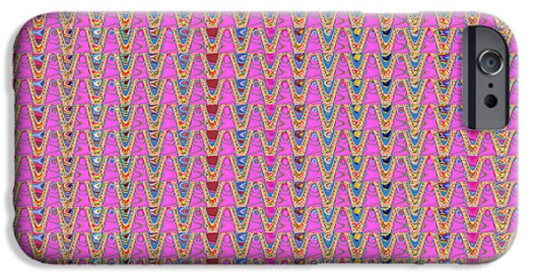 Diy iPhone Cases - Unique  artistist created Signature Texture Patterns Color Shades Tones  for personal commercial use iPhone Case by Navin Joshi