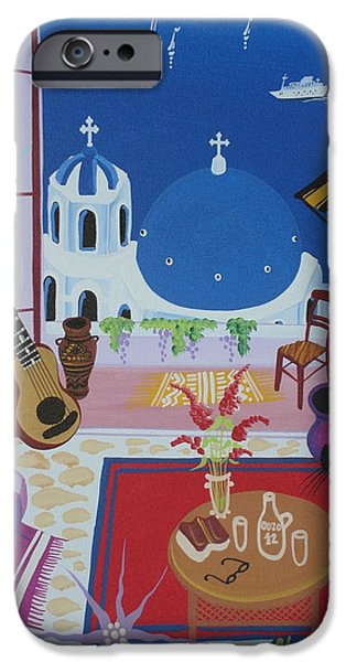Balcony iPhone Cases - Untitled iPhone Case by Herbert Hofer