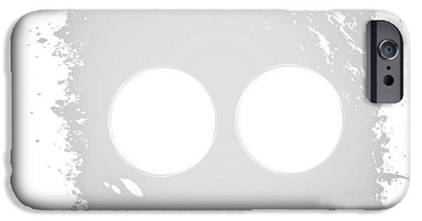 Business iPhone Cases - Vector set icons button facebook twitter flickr 500px iPhone Case by Egor Tupikov