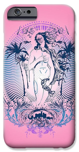 Well-known iPhone Cases - Venus iPhone Case by Pop Culture Prophet