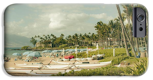 Recently Sold -  - Connection iPhone Cases - Wailea Beach Maui Hawaii iPhone Case by Sharon Mau