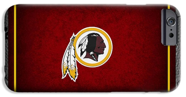 Griffin iPhone Cases - Washington Redskins iPhone Case by Joe Hamilton