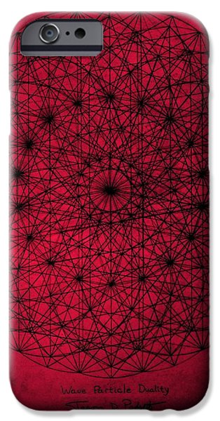 Wave Particle Duality iPhone Case by Jason Padgett