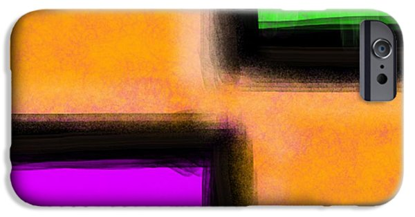 Etc. Digital Art iPhone Cases - 3 Way iPhone Case by James Eye